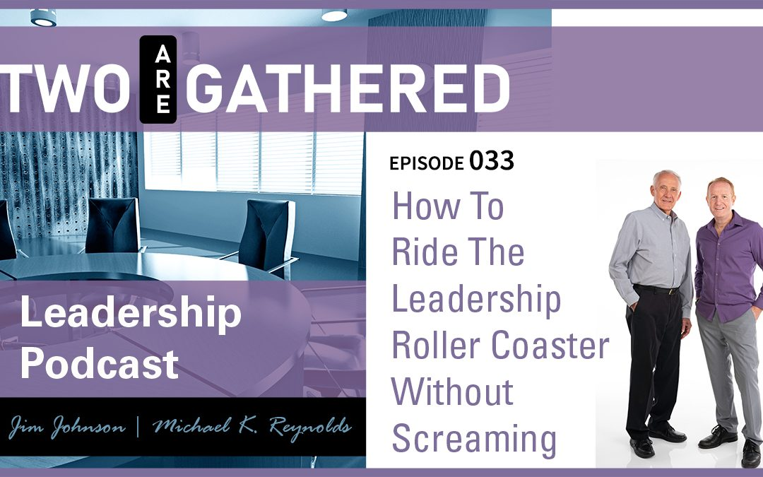 How To Ride The Leadership Roller Coaster Without Screaming